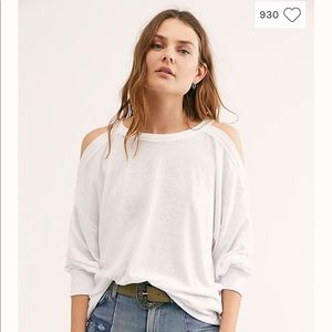 "Free People ""We The Free"" Chill Out Top NWT"
